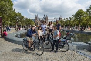 sightseeing bike tour amsterdam
