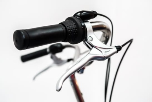 Rent a bike with safe front and rear handbrakes