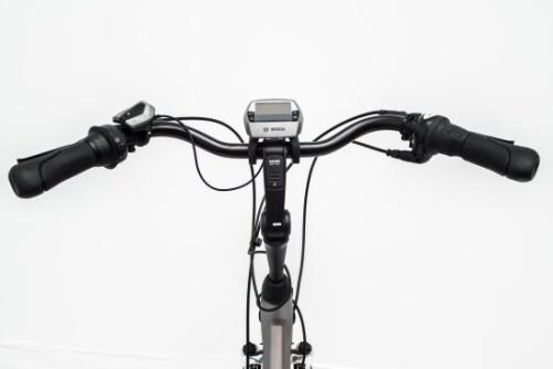 Adjustable steer of a rental E-Bike