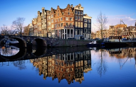 Guided bike tour Amsterdam canals