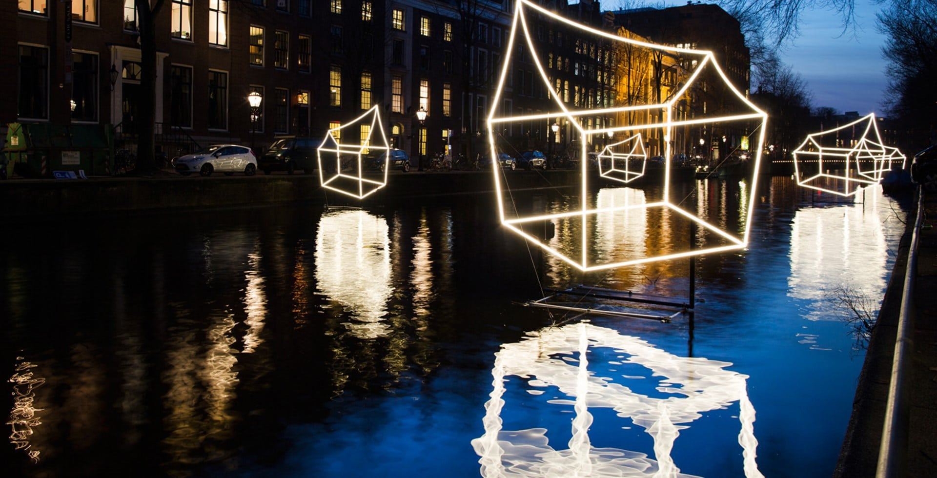 Amsterdam light festival tour