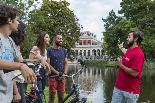 vondelpark bike tour